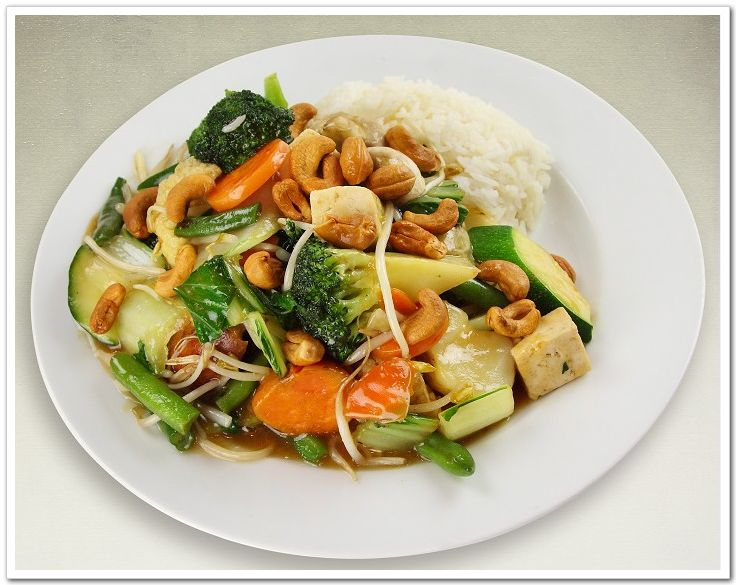 cashew nut stirfry